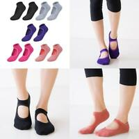 Pro Women Yoga Socks Anti Slip Breathable Pilates Fitness Feet Gym Cotton Sock