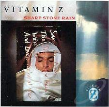 VITAMIN Z Sharp Stone Rain RARE CD Hot 100 Singles hit Burning Flame New Wave