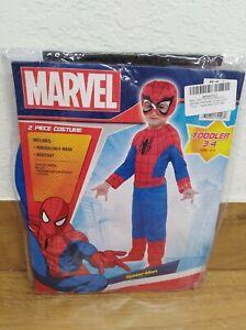 Marvel Spider-Man Costume Toddler 3-4