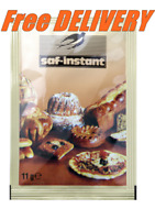 SAF INSTANT Dried Yeast 7 x 11g Sachets, Best for Bread & Baking Fast Acting.