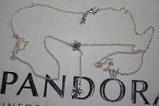 Pandora in Argento Abbagliante MARGHERITE Collana Taglia 590540CZ-60 - 60 cm