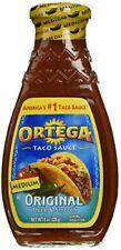 Ortega Medium Taco Sauce 8oz