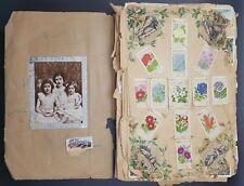 Collection of Cigarette Cards, Full & Part Sets inc Kensitas In Scrap Album