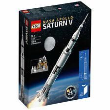 LEGO Idee NASA SATURN V 21309 Scatola Nuovo Di Zecca Sigillato Rapido e gratuito affrancatura