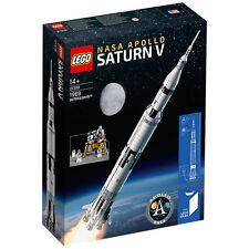 Lego Ideas NASA Saturn V 21309 BRAND NEW SEALED BOX FAST & FREE POSTAGE