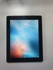 Apple iPad 2 64GB, Wi-Fi + Cellular (AT&T), 9.7in - Black - used