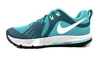 Nike Air Zoom Wildhorse 5 Teal Running Shoes AQ2223-300 Women Sz 10 = Men Sz 8.5