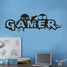 Gamer Removable Wall Sticker Art Vinyl Mural Home House Room Decor Wall Stickers
