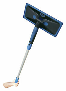 Unger 970300 ProClean Plastic Window Cleaning Tool 8 W in. with 24 L in. Handle