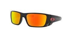 Pila de combustible de Oakley Gafas de sol polarizadas OO9096-K060 tinta negra con lente rubí Prizm