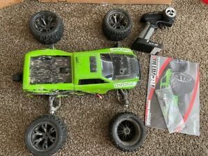Redcat Racing RC-MT10E 1/10 Scale 4WD Brushless RC Monster Truck Green