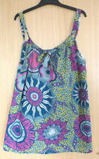 Primark Scoop Neck Floral Sleeveless Tops & Shirts for Women