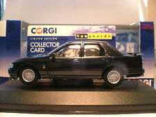 RARE Vanguards 1/43 Smokestone 1992 Ford Sierra Sapphire Rs Cosworth 4-porte NLA