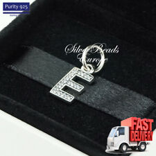 Pandora Alphabet Letter E, Initial, Pendant, Bracelet Charm 791317CZ