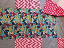 Wonderwoman,Supergirl, Batgirl handmade quilt for your Superhero WOW