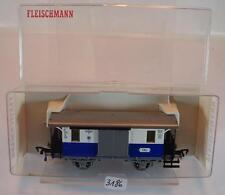 Fleischmann H0 5056 Plattform Gepäckwagen Edelweiß-Bahn in O-Box #3186