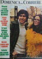 DOMENICA DEL CORRIERE N.6 1972 MORANDI VOLONTE'