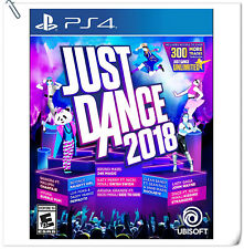 PS4 Just Dance 2018 SONY PLAYSTATION Ubisoft Music Games