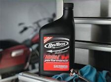 REVTECH HARLEY MOTORCYCLE OIL CASE 12 QUARTS SAE 20W50