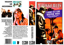 "VHS - "" Marokko BLUES "" (1989) - Nikolaj Christensen - Nathalie Brusse"