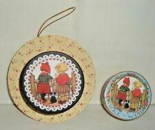 "Mary Engelbreit ""Make a Wish"" Mini Hat Box Ornament & Trinket Box (Euc)"