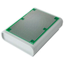 Universal PCB Circuit Matrix Board + ABS Box Enclosure for Electronic Prototypes