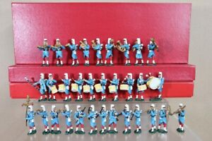 DORSET SOLDIERS FRENCH FOREIGN LEGION SET of 32 soldiers MARCHING BAND 1936 nu