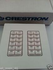 CRESTRON C2N-DB12W C2N-DB12 Decorator Function Keypad ADAGIO AES AMS (B17)