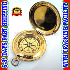 WHOLESALE LOT 50 PUSH COMPASS-POCKET WATCH STYLE-XMAS GIFT