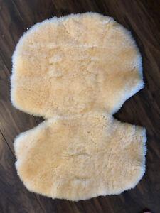Mamas & Papas Luxury Sheepskin / Pure Wool Pram/Buggy Liner