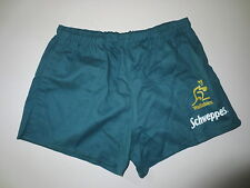 VINTAGE Short rugby AUSTRALIE WALLABIES Reebok Schweppes coton S collection