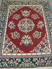 "Wool Rug 4 x 6 ""Royal Chateau"" Ming Red"