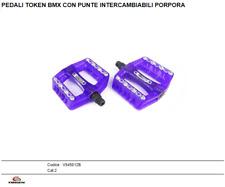 PAREJA PEDALES BMX COLOR PORPORA TOKEN V545012B