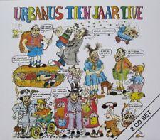 URBANUS - URBANUS TIEN JAAR LIVE   - 2 CD