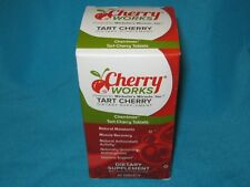 NIP NEW CHERRY WORKS MICHELLE'S MIRACLE, INC. TART CHERRY SUPPLEMENT 60 TABLETS