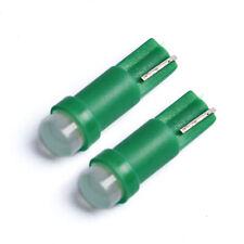 2 ampoule LED T5 W1.2W Vert Pare soleil Veilleuses Miroirs lampe tableau bord