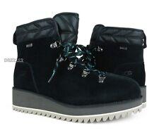 UGG Birch Lace-Up Boot Black Waterproof Boots Womens Size 9 ~NIB*