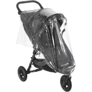 RAIN COVER TO FIT BABY JOGGER CITY MINI SINGLE RAIN COVER WITH ZIP UK MFD