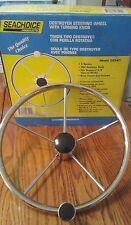 """SEACHOICE 15.5"""" - 5 Spoke Destroyer Style Boat Steering Wheel"""