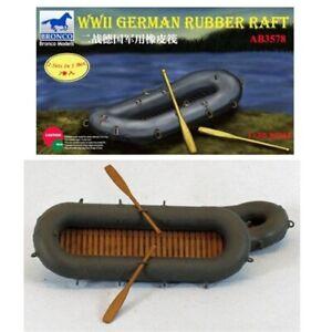 Bronco Models 1/35 WWII German Rubber Raft Set (2 in 1)