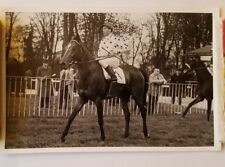 Antique Thoroughbred Racehorse & Jockey Photo, Reportage Photographique, A. Well