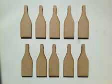 10 X Small Wooden Champagne Bottles