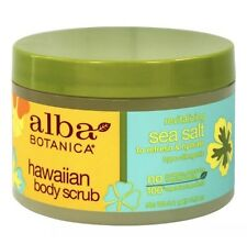 Alba Botanica - Alba Hawaiian Body Scrub Sea Salt - 14.5 oz.