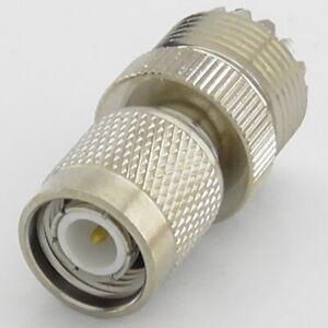 TNC Male Plug to SO239 UHF Female Socket Jack RF Adaptor - Interseries PL259