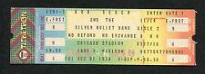 1978 Bob Seger Silver Bullet Band unused full concert ticket Chicago Stadium