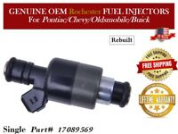 1 Fuel Injector OEM Rochester for Pontiac Chevy Oldsmobile Buick #17089569