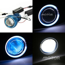 Blue Projector Headlight Halo Angel Devil Eyes For Suzuki V-Strom Vstrom 650