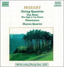 Mozart: String Quartets The Hunt, Dissonance MOYZES CD