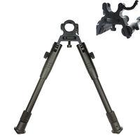 "Metal 8""-10"" Adjust Clamp-on Spring return leg Posi-Lock Bipod for Rifle hunting"