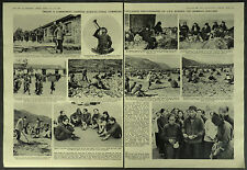 China Inside A Communist Chinese Agricultural Commune 1963 2 Page Photo Article